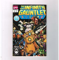 THE INFINITY GAUNTLET 6-part Copper Age series by Jim Starlin starring Thanos! http://www.ebay.com/itm/INFINITY-GAUNTLET-6-part-Copper-Age-series-Jim-Starlin-starring-Thanos-/301515551695?pt=LH_DefaultDomain_0&hash=item4633ba33cf