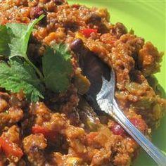 Quinoa Chili. #recipe