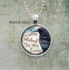 Something Wicked This Way Comes Shakespeare Quote by MelsArtBits