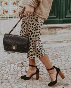 OOTD leopard #goals #fashion #ootd