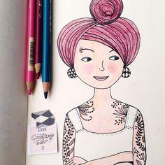 Internationaler Frauentag! #girlpower . . . . #illustration #illustrationoftheday  #morningcoffee #morningdoodle #coffeelove #handlettering #drawing  #typography  #draweveryday #instaartist  #illustratorsofinstagram #art_we_inspire #girlsrule #womenpower #pencils #tattoo #internationalerfrauentag #inspiration #womansday  #frauentag @byjohannafritz #bookworm #berlinillustration #bookillustration #book #bücherwurm  #booklover #matskidbook