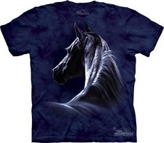 Shirt M New Ladies Women Wild Free Horses Horse Stallion Pony Cute T XL