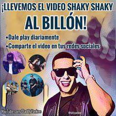 Falta muy poquito para que el #shakyshaky llegue al billón de vistas!! Y con tu  Instagram