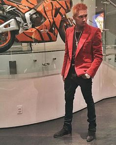 """@upscalehype on Instagram: """"#Tyga Poses in #Balmain Sportcoat And #AudemarsPiguet Watch. Go to UpscaleHype.com for more pics. How would you rate his look out of 10?"""""""