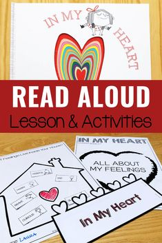 In My Heart Book Activities In My Heart Book Activities,Books for Social Emotional Learning In My Heart Book Activities for social emotional learning lessons in the classroom or for school counseling. Emotions Activities, Counseling Activities, School Counseling, Book Activities, Teaching Emotions, Elementary Counseling, Group Counseling, Activity Ideas, Feelings Book
