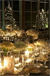 How To Decorate A Romantic Winter Wedding Wedding Ideas . 20 Inspiring Winter Wedding Centerpieces For Your Big Day . An Intimate Formal Winter Wedding In Connecticut Martha . Winter Wedding Receptions, Winter Wedding Decorations, Holiday Wedding Decor, Holiday Tablescape, Christmas Decorations, Flower Decorations, Tablescapes, Tree Wedding Centerpieces, Wedding Tables
