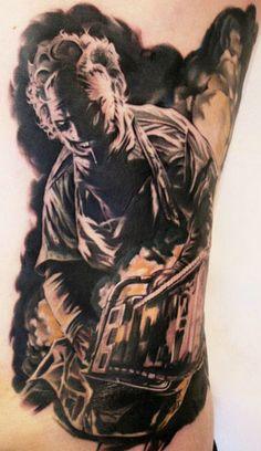 Tattoo Artist - Carl Löfqvist - www.worldtattoogallery.com/movies_tattoo