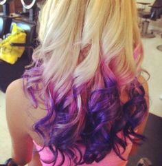 Wouldn't do this in my hair, but super cute<3