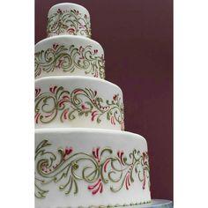 """738 Gostos, 3 Comentários - #No.1 Nigerian Cake Blog  (@cakebakeoffng) no Instagram: """"Spotted this Simple BEAUTIFUL Cake Design ✨ Tag the Baker!! #Cakebakeoffng #CboCakes…"""""""