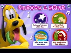 Mickey Mouse Clubhouse Game - Pluto's Musical Maze - Playhouse Disney