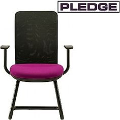 Pledge Air Mesh Back Cantilever Visitor Chair  www.officefurnitureonline.co.uk