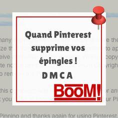 Quand Pinterest supprime vos partages !