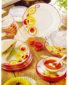 In kitchen garnishing make life easy and opportune while the cooked and served food. The best way to serve food in dinner sets is best way in usual family and fit for family. Infibeam.com online store dinnerware in india have a large collection of dinner sets in affordable price.