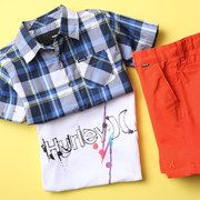Just picked up great Spring/Summer Hurley clothes for Santino! Take a look at the Hurley Boys event on #zulily today!