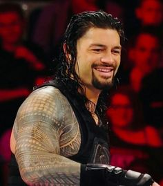 Roman Reigns Smile, Wwe Roman Reigns, Roman Reighns, Wwe Superstar Roman Reigns, Love Your Smile, Wwe Divas, Wwe Superstars, Roman Empire, Romans