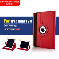 Now Available #fashion #shopping: Tablet Case For i... Check it out here! http://giftery-shop.com/products/tablet-case-for-ipad-mini-1-2-3-case-360-rotation-pu-leather-case-for-apple-smart-cover-mini-1-2-3-flip-case-with-stand-function?utm_campaign=social_autopilot&utm_source=pin&utm_medium=pin