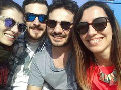 Sun...friends...sunglasses...sea...25..04..2013