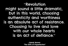 """Be the start of your own revolution! 