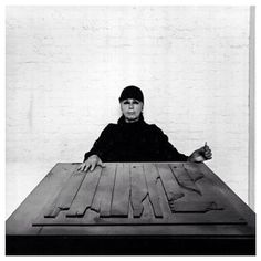 Artist Louise Nevelson © Photo by: Arnold Newman Louise Nevelson, Still Life Images, Art Students League, Environmental Portraits, Oldenburg, Outdoor Sculpture, Assemblage Art, Women In History, Abstract Photography
