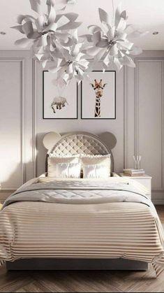 Luxury Kids Bedroom, Modern Kids Bedroom, Room Design Bedroom, Kids Bedroom Furniture, Bedroom Ideas, Bedroom Inspiration, Showroom Interior Design, Interior Architecture, Kids Room Murals