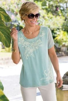 Gardanne Tee from Soft Surroundings