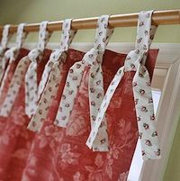 tie top curtains for kids - Google Search