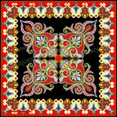 Overview Page Quarter square pattern Embroidery Patterns Free, Lace Patterns, Knitting Patterns Free, Cross Stitch Embroidery, Crochet Patterns, Cross Stitch Charts, Cross Stitch Patterns, African Crafts, Book Crafts