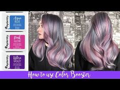 Chromatic Number In Coloring Beautiful How to Use Color Boosters Aqua Blue, Pink, Guy Tang Hair, Hair Color Formulas, Funky Hairstyles, Formal Hairstyles, Wedding Hairstyles, Glow, Brown Ombre Hair