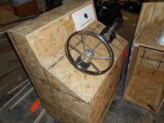 steering console and storage seat build Page: 1 - iboats Boating ...