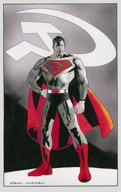 Superman: Red Son by Kevin Nowlan