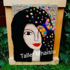 Resultado de imagen para telar decorativo con flores Lana, Disney Princess, Disney Characters, Photography, Inspiration, Tapestries, Murals, Tour Eiffel, Weaving Looms