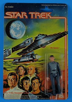 Star Trek the Motion Picture Mr. Spock action figure (1979)