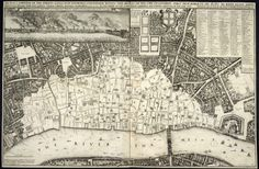 The devastation caused by the Great Fire of London http://www.bl.uk/learning/timeline/external/greatfiremap-l.jpg