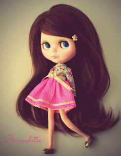 A Doll A Day. Aug 1. Bernadette by Forty Winks Doll Studio, via Flickr