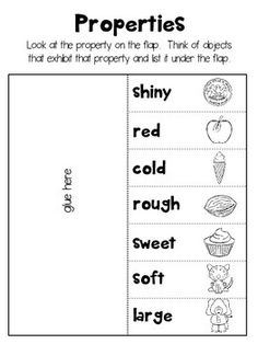 Properties of Matter Worksheet 1 | Projects to Try | Pinterest ...