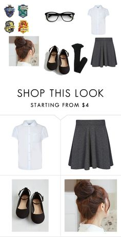 """""""Sin título #58"""" by evelyn-mendoza-1 on Polyvore featuring moda, George, Pin Show y Yves Saint Laurent"""