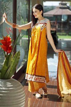 Stylish & Trendy Summer Wear Dresses 2015-16 by Pareesa