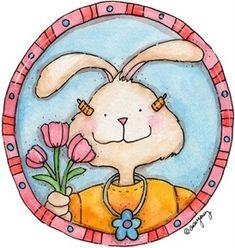 imagem decoupage clipart coelho Day Dream (6)