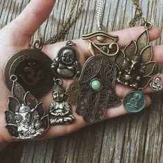 The Pendant Collection - Hippie Boho Bohemian Tumblr Womens Jewelry