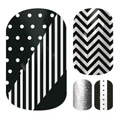Monochromania Gift Set  nail wraps by Jamberry Nails