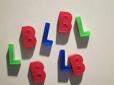 Letter Recognition Lesson: This is the first post in a series about Word Work, the Reading Recovery™ Way.