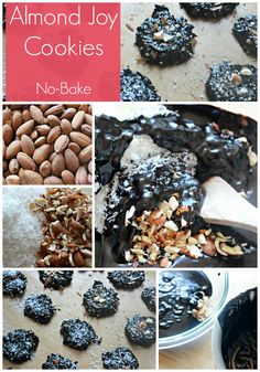 No Bake Almond Joy Cookies with Coconut Oil - The Coconut Mama