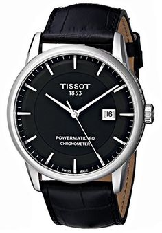 Now in stock Tissot Men's T0864081605100 Luxury Analog Display Swiss Automatic Black Watch