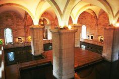 Mãe D'Água Amoreiras Reservoir - € - Praça das Amoreiras Lisbon - Tue – Sat – Water Temple, Lisbon Portugal, The Neighbourhood, Arch, Wanderlust, Dreams, Gallery, Interior, Lisbon