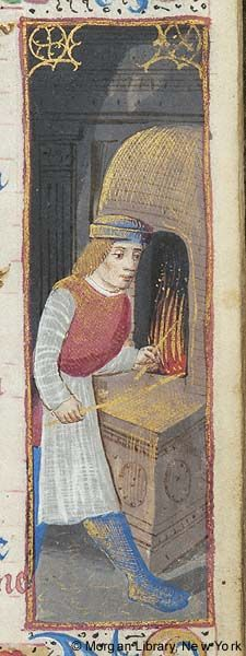Medieval Manuscript Images, Pierpont Morgan Library, Book of hours (MS M.179). MS M.179 fol. 11r