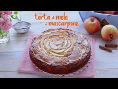 TORTA DI MELE AL MASCARPONE,  a post from the blog Fatto in casa da Benedetta on Bloglovin' Italian Cake, Italian Desserts, Italian Recipes, Pudding Recipes, Cake Recipes, Dessert Recipes, Apple Recipes, Sweet Recipes, Apple Deserts