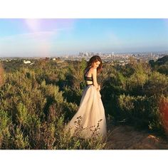 Dani Thorne in the Nasty Gal Dream Vision Skirt || Get the skirt: http://www.nastygal.com/prom/nasty-gal-dream-vision-skirt-?utm_source=pinterest&utm_medium=smm&utm_term=influencer_nasty_gal&utm_content=nasty_gals_in_the_wild&utm_campaign=pinterest_nastygal