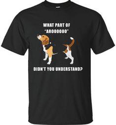 Aroooo! Beagle Tshirt Men Women Kids TEE - Shirt Check more at https://teetran.us/aroooo-beagle-tshirt-men-women-kids-tee-shirt-6704