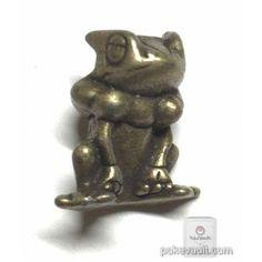 Pokemon 2015 Metal Collection XY&Z Frogadier Figure (Bronze Version)