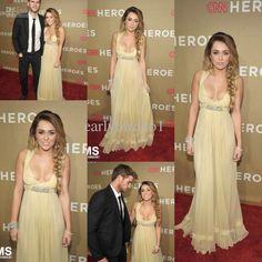 Miley Cyrus Prom Dress